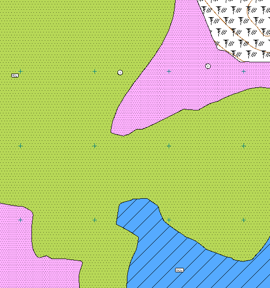 Различные виды геосрезов