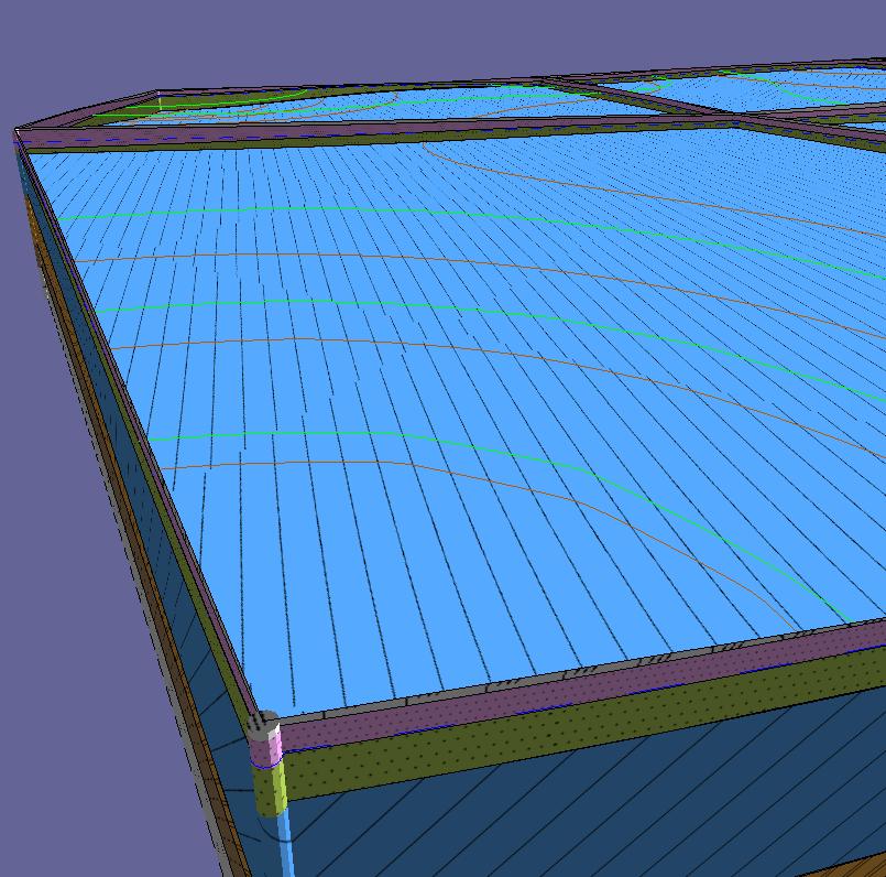 Виды проекта 3D геология