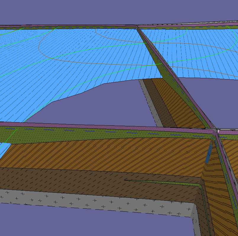 Различные виды проекта 3D-геология